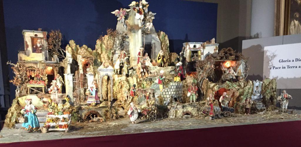 Velký neapolský betlém, focený v Římě
