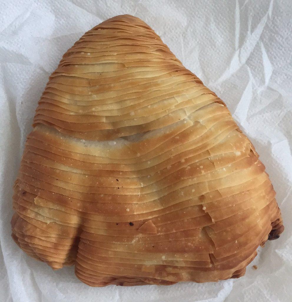 Neapolské sladké pečivo, například ke snídani - sfogliatella