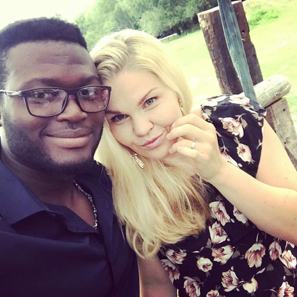 Kristýna a manžel.