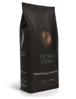 bezkofeinová italská káva v černém obalu