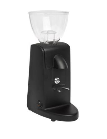 elektrický mlýnek na kávu černé barvy