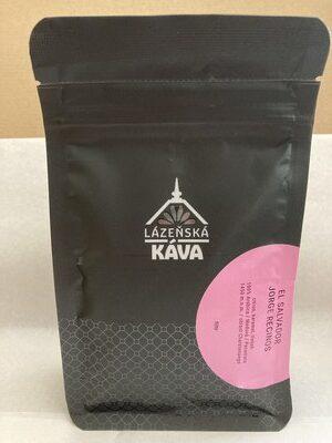 balení lázeňské kávy, přední pohled