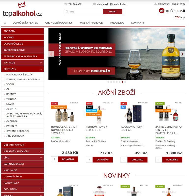 Italské dobroty (především vína a grappy) se dají koupit i na tomto webu Topalkohol.cz