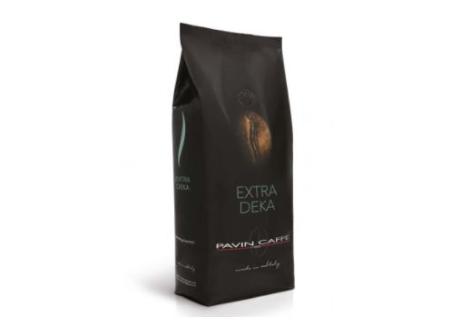 balení bezkofeinové kávy Pavin